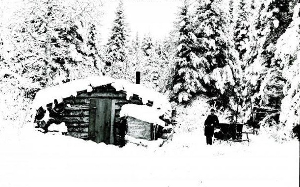 Hunting camp, late 1800s
