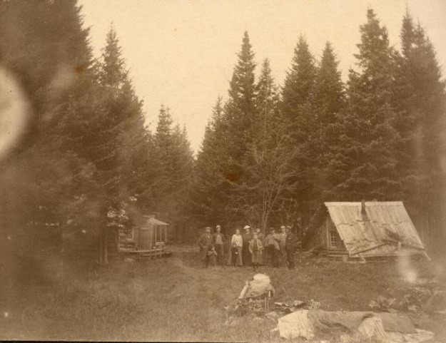 Family camp in The County (ca. 1895)