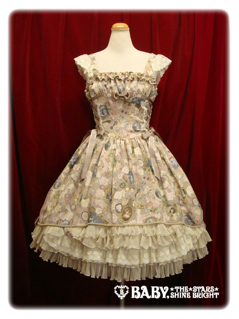 lolitahime:  BABY'S Fragrant Rose Memories Camelot JSK in Victorian Sepia Brown