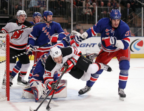 "David Clarkson stars in: ""Crouching Tiger, Hidden Devil"" Opponent: New York Rangers - Feb.27, 2012"