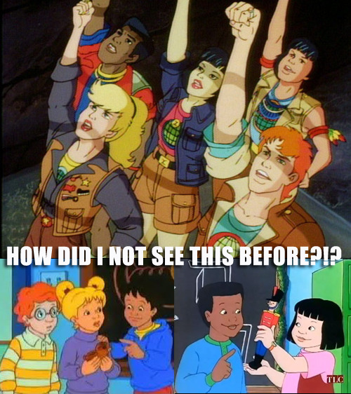 ohmygil:  super-eklectic1:  queernonymoose:  mind. blown.    Arnold would never be cool enough to be Wheeler.