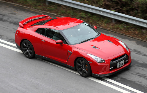 Nissan GT-R on the streets of Luk Keng, New Territories, Hong Kong, China [Photo Taken by Daryl Chapman]