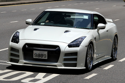Nissan GT-R on the streets of Hong Kong, China [Photo Taken by Daryl Chapman]