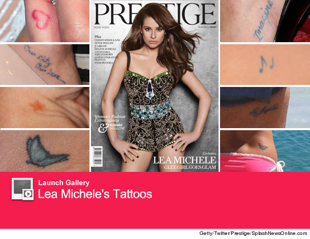 Lea Michele's 14 Tattoos: Guess How Many We Found? | tooFab.com