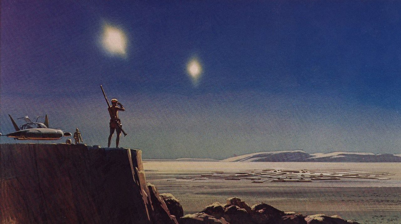 I just read that we lost artist Ralph McQuarrie today. His conceptual work for movies like Star Wars and The Empire Strikes Back was an inspiration to me as a kid, and set a high bar for dreamers of my generation. He'll be hugely missed (image credit: Ralph McQuarrie).