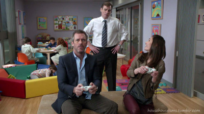 "Video Games! House in ""Love Is Blind"", 8x14"