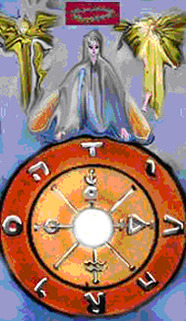 A Roda da Fortuna (Wheel of Fortune) - Grey Goose Art Tarot