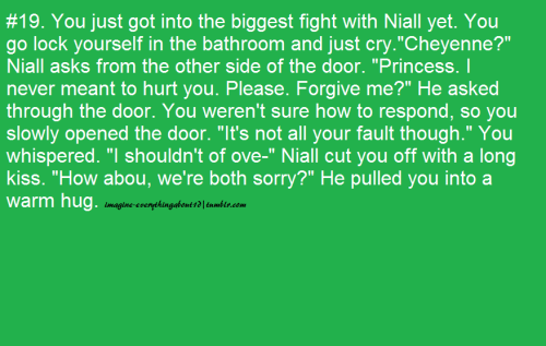 imagine-everythingabout1d:  Sorry for the wait x :)  All the time.