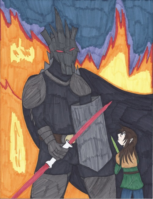 The long awaited Fin-gon Jinn vs Darth Morgoth picture. I spent a long time on this, so I hope it's satisfactory…