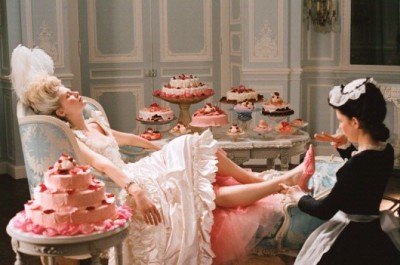 From Sofia Coppola's Marie-Antoinette. So graceful, feminine, and decadent. | (via weddingbycolor.com)