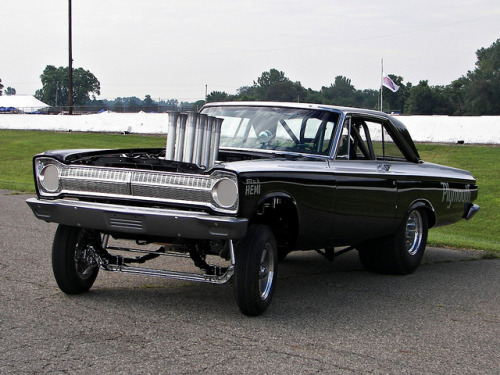 undergroundvelo:  Altered 1965 Plymouth by osubuckialum on Flickr.