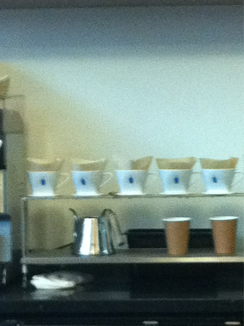 Blue bottle coffee@SF