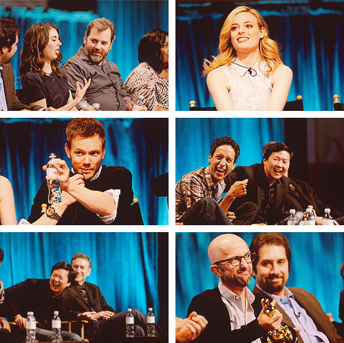 Community cast at PaleyFest 2012