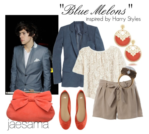 """Blue Melons"" inspired by Harry Styles~xx mia"