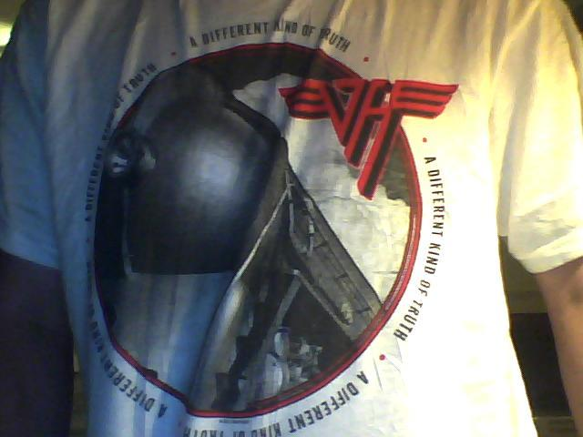 Here's my new Van Halen shirt I got yesterday!