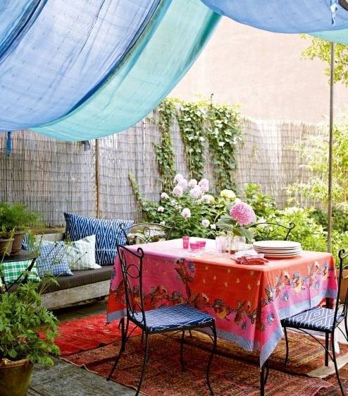 My Bohemian Home ~ Outdoor Spaces Holly Becker and Joanna Copestick (c) Chronicle Books