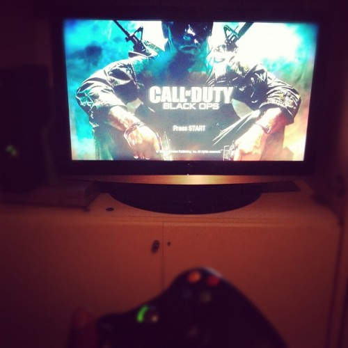 sneakahead555:  What I'm on for the rest of the night.. (Taken with instagram)  DopeeKillaKal - gamertagim too good at black ops lol