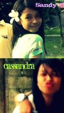 ELOISA CASSANDRA ERNI.. she is one of the most beautiful faces in our class.. and also one of the most RIDICULOUS mouth.. but IREALLYLOVE her:)) of all my friends, she is the most special :))  iLoveUCasey!