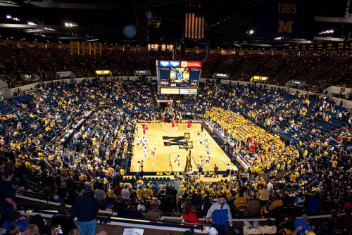 Crisler Arena by ChongoIsDanegerous on Flickr.