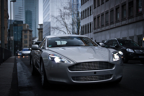 stormss:  Aston Martin Rapide  Ridiculousness. Lets say you've arranged a date with the woman of your dreams….this is what you collect her in. You don't need anything else.