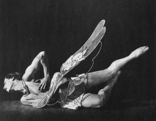 azorica:  Portrait of Serge Lifar in costume for Icare, Ballets Russes (c. 1930).