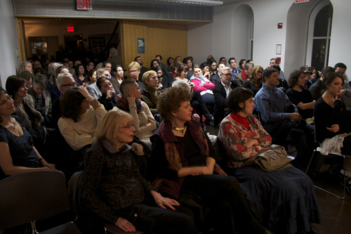 "Photos of the presentation of the American edition of ""Here is Berlin"" at NYU, March 2nd, 2012. ©Johnny Pérez for http://www.hereisberlin.com"