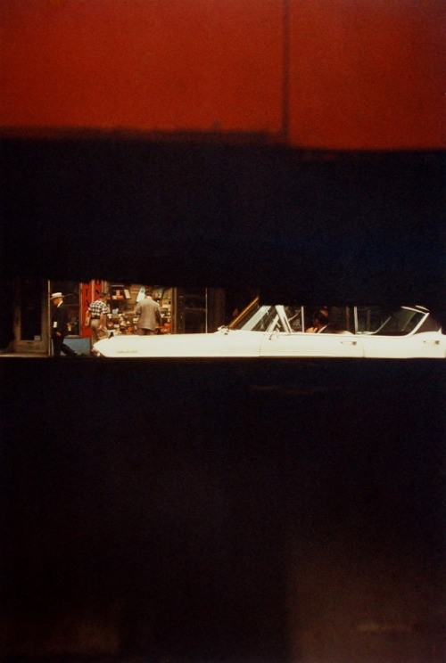 Saul Leiter Through the Boards, 1957