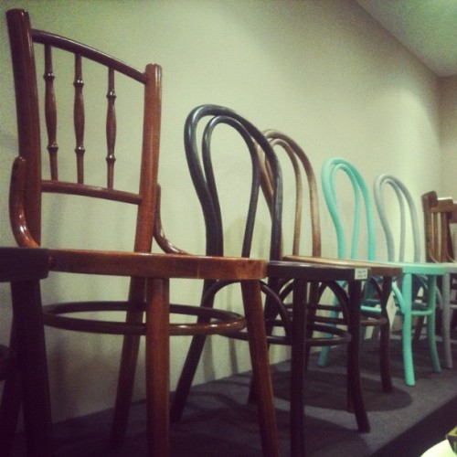 Kopitiam chairs!  (Taken with instagram)