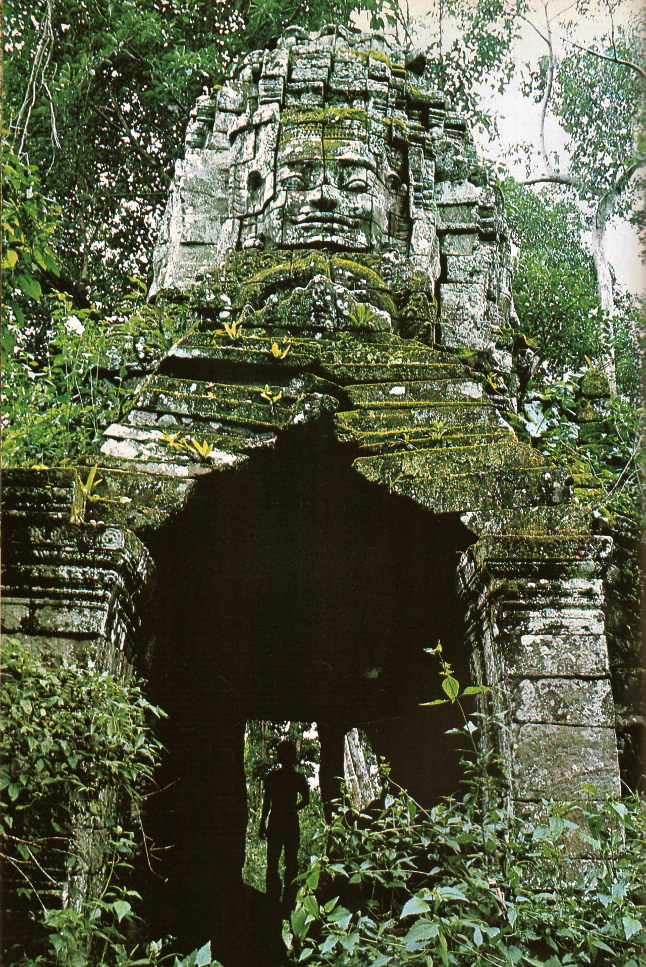 "nirvikalpa:  Wilbur E. Garrett, ""The Temples of Angkor,"" National Geographic, May 1982"