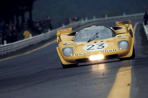 Ferrari 512S at the 1000KM of the Spa 1970
