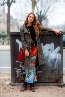 (via Street Style Aesthetic » Blog Archive » Paris – Alexia Niedzielski)