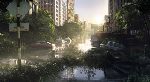 The Last Of Us - Flooded Street  I am on a no-buy hiatus on games atm, but I might have to cave when The Last of Us comes out. D: