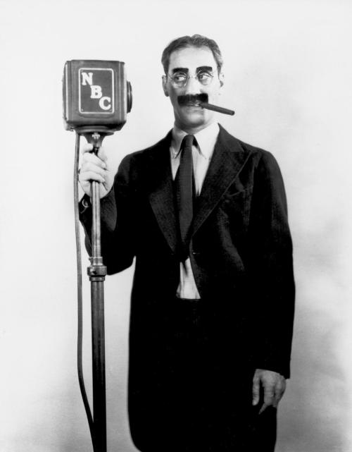 driveintheaterofthemind:  Groucho Marx At NBC