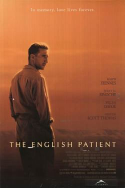 2. The English Patient - A complex, but nonetheless intriguing love story. Grade: 8/10