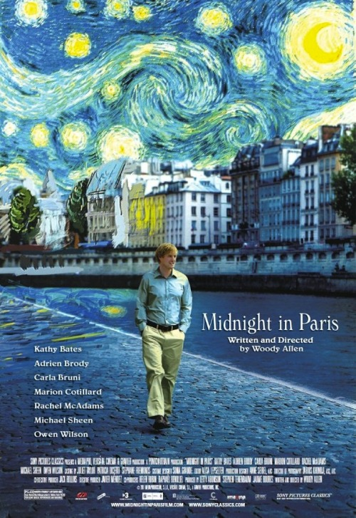 Midnight In Paris definitely a favourite movie of mine and y'all should definitely see this at least once in your life!