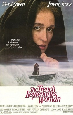 6. The French Lieutenant's Woman - With its unforgettable scenes (Meryl Streep at the cobb of Lyme Regis, waves crushing against her dark silhouette), breath-taking landscapes and the mysterious charm, this film has a plenty to offer despite its weak script and disappoint second half.  Grade: 5/10
