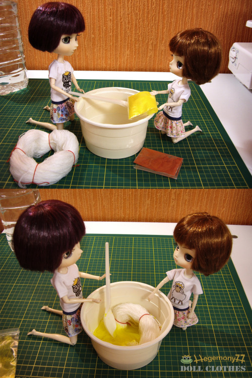Pullip Dal and the yarn dyeing