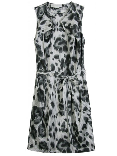 Add some flair to your prom look with an animal-printed frock, like this chic mini-dress from Stella McCartney. Check out more party-ready picks here »