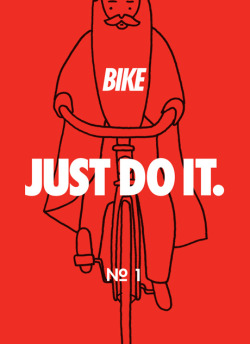 grafikr:  Illustration Corporation @illco.tumblr.com  just bike it