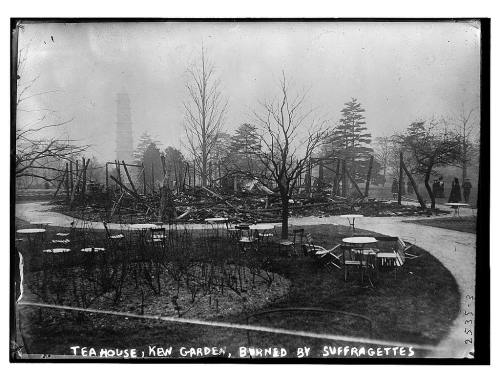 Tea House, Kew Gardens, destroyed by suffragettes (LOC)
