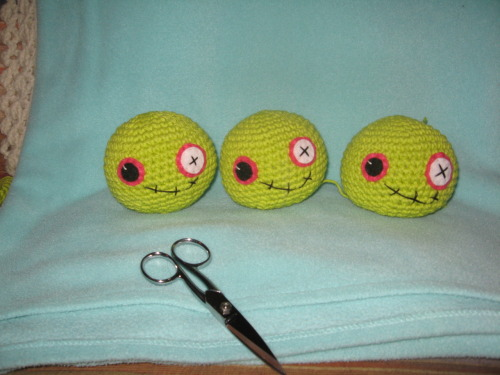 The zombie assembly line…mmm, brains…