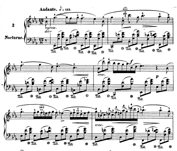 homoglobin:  Chopin's Nocturne in E♭ Major