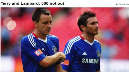 John Terry and Frank Lampard ( FA CUP )