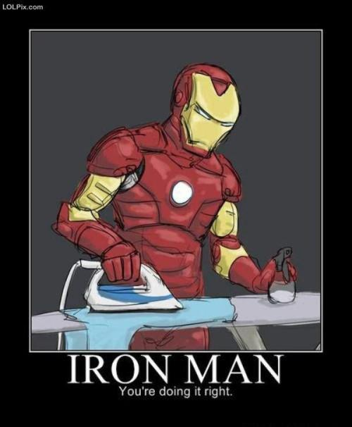 The real iron man..