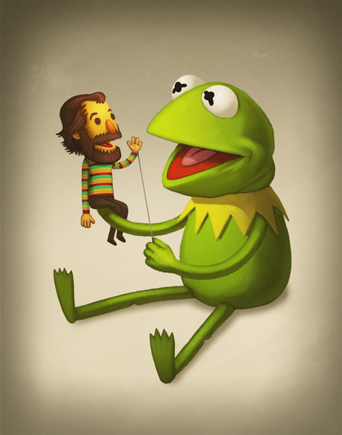 2headedsnake:  sirmikeofmitchell.com Mike Mitchell© 2011, 'Best Buds'