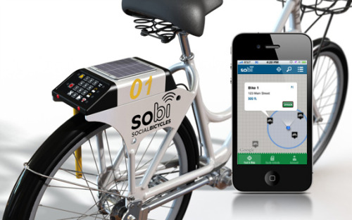 SOBI. Social Bicycles