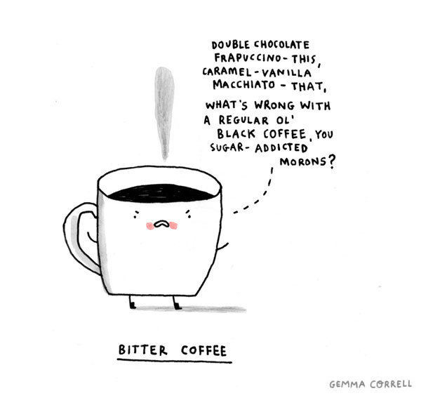 laughingsquid:  Bitter Coffee