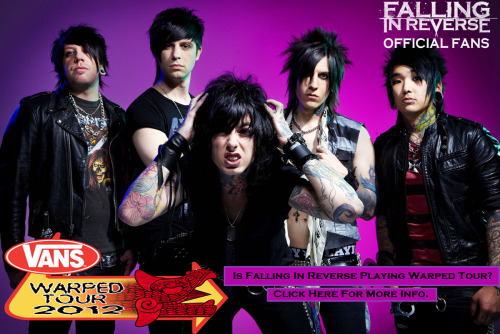 officialfallinginreversefans:  A Magazine Ad leaked Warped Tour Bands. Check out who is on this Magazine Ad. ;) Do not flip out and get all excited until Warped Tour OFFICIALLY announces these bands.