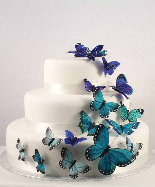 Beautiful butterfly cake sets ! many different colors avaiable click here for details!