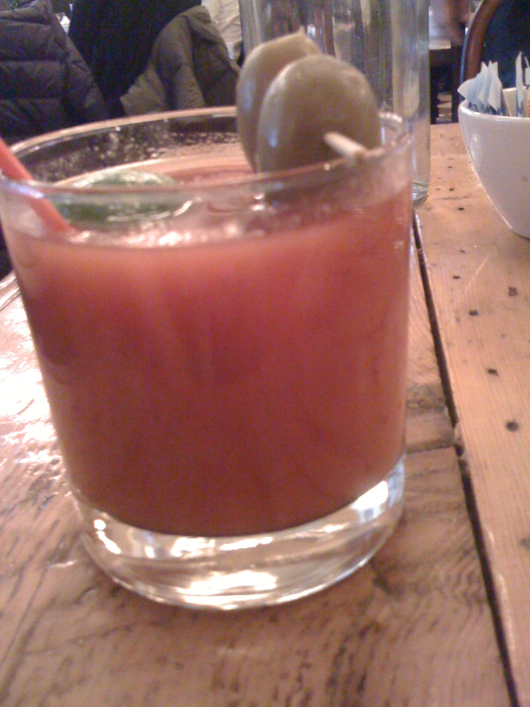 I need a good ole Wisconsin bloody right now, New York just doesn't get it.